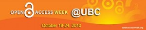 Open Access Week @ UBC