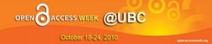 Open Access Week @ UBC