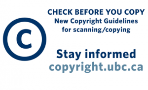 UBC Copyright: news update on Access Copyright