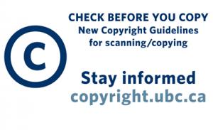 UBC Copyright: news update on Access Copyright