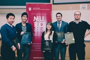 Three MURC 2012 award winners at U21