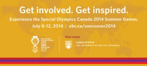 Let the Special Olympics Canada 2014 Summer Games begin