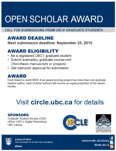 Top Ten reasons to submit your graduate work to cIRcle