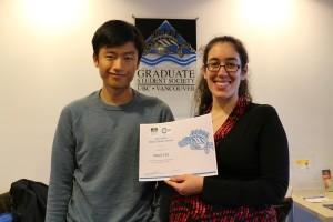 Latest GSS cIRcle Open Scholar Award winners